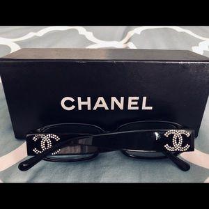 Authentic Chanel Swarovski Eyeglass Frame